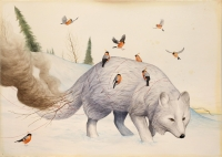 http://www.steambiz.com/files/gimgs/th-29_12_In-Search-For-The-True-North_100x70cm_2018_watercolor-and-gouache-on-cotton-paper.jpg